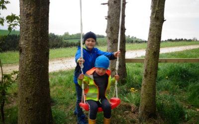 Corona Zeit im Waldkindergarten